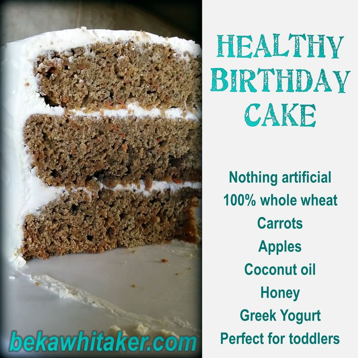 healthy birthday cake (carrot apple cake with coconut oil and whole wheat flour etc.), perfect for toddlers or those that desire to eat healtier! No artifiical anything!