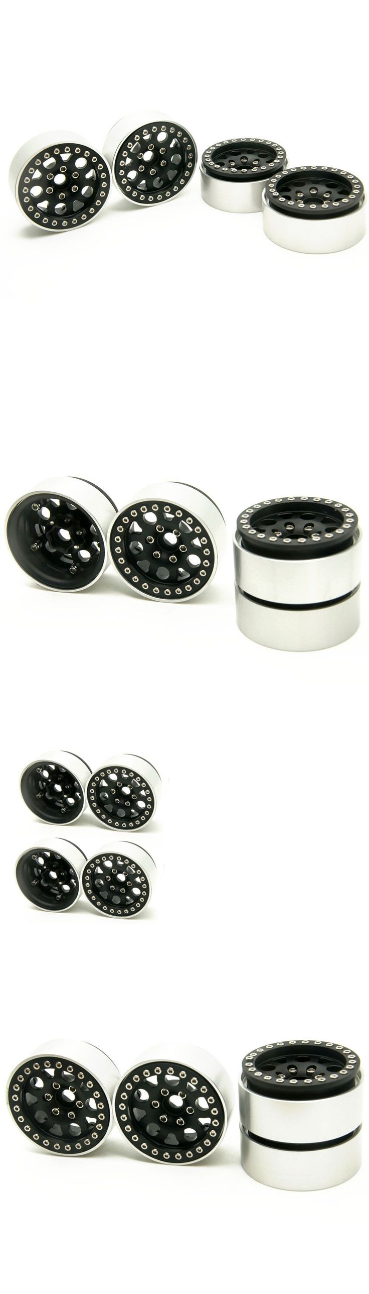 Wheels Tires Rims and Hubs 182201: 4X Metal 1.9 Beadlock Wheel Rims For Axial Scx10 D90 Cc01 Rc 1 10 Crawler Car -> BUY IT NOW ONLY: $52.95 on eBay!
