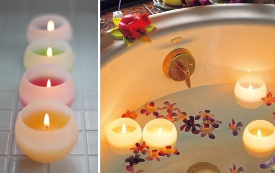 Okayama Kurashiki|岡山(おかやま) 倉敷(くらしき)|ペガサス・キャンドル|『ぷかぷかバスキャンドル』| 直接湯船に浮かべても大丈夫な、アロマキャンドル(ロウソク)です。 いつものまぶしい電気を消してキャンドルを灯せば、自分だけのリラックスタイムが過ごせます。  キャンドルを灯す時には浴室の電気を消し、脱衣場の電気をつけると、丁度よい明るさになります。 容器は燃えにくく、割れにくいワックス製です。