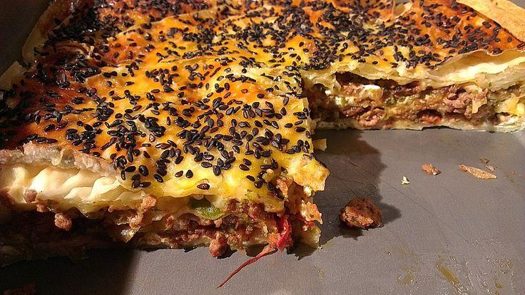 Börek mit Hackfleisch, ein beliebtes Rezept aus der Kategorie Lamm & Ziege. Bewertungen: 107. Durchschnitt: Ø 4,5.