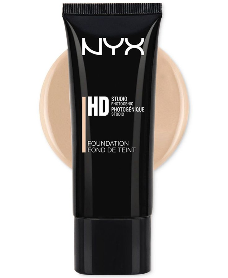 Nyx High Definition Foundation, shade nude