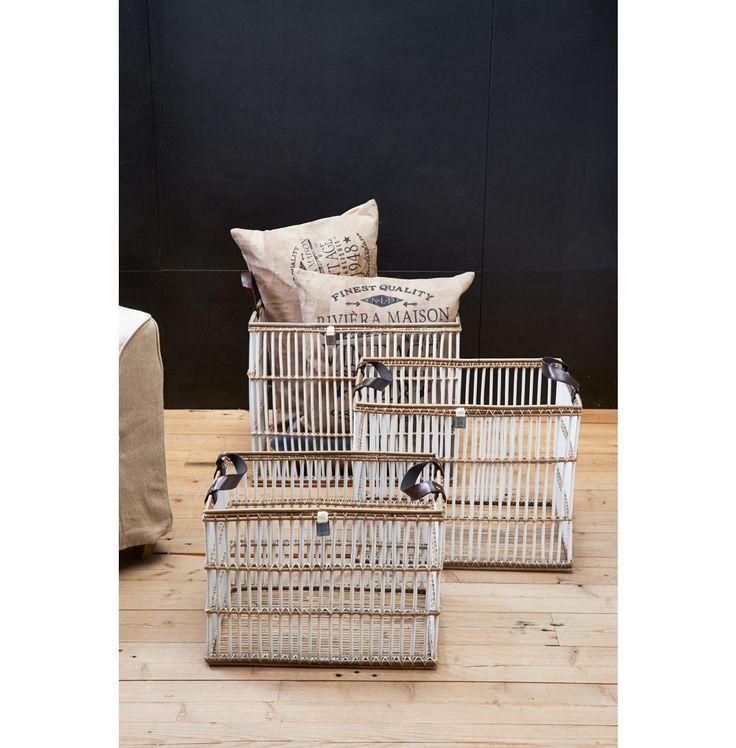 Pretty Peninsula Storage Basket Set U20ac 219,  #living #interior #rivieramaison