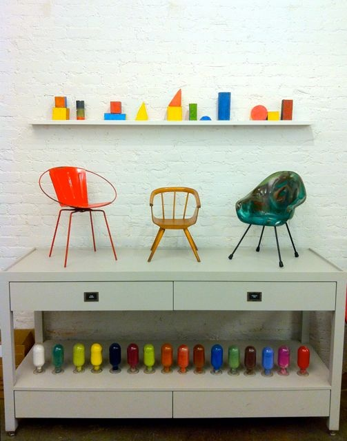 Vintage kids' chairs - Partners & Spade, MONDOBLOGO