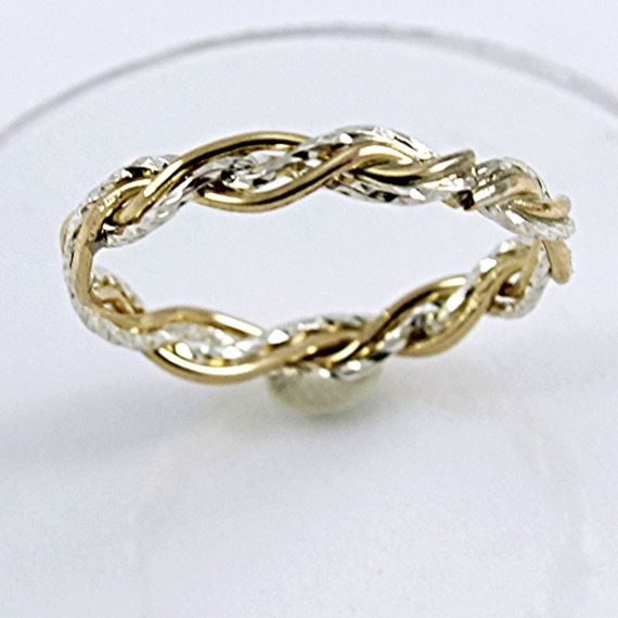 Hey, I found this really awesome Etsy listing at https://www.etsy.com/listing/221403691/gold-filled-ring-braided-ring-925