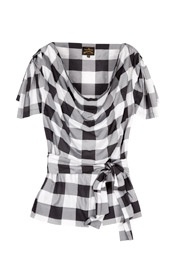 Vivienne Westwood Anglomania - Hop & Skip Check Blouse