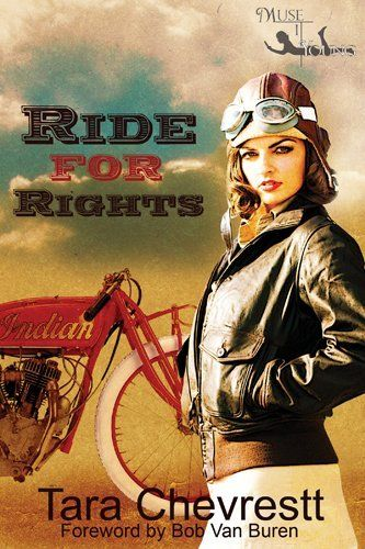 Ride for Rights by Tara Chevrestt, the summer of 1916 women do not have the right to vote, let alone be motorcycle dispatch riders. Two sisters, Angeline and Adelaide Hanson are determined to prove to the world that not only are women capable of riding motorbikes, but they can ride motorbikes across the United States. Alone.