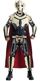 Costume Direct - Star Wars - General Grevious Deluxe Mens Costume, $124.99 (http://www.costumedirect.com.au/star-wars-general-grevious-deluxe-mens-costume/)