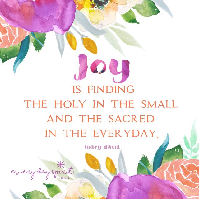 Let Todayu0027s Small Miracles Lead The Way To Joy. #joy For The App Of