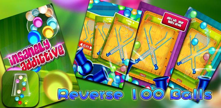 Reverse 100 Balls is a free mobile game.The canon will blow the balls up, as the cups rotate on the track you must catch balls to keep the cup in rotation. Fill the moving cups up as much as you can with the balls as they are shot up..Download: www.mobilegamesbox.com