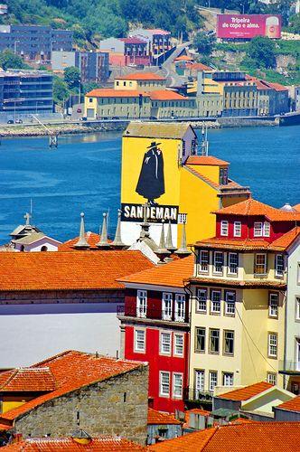 Porto, vu depuis le Pont Dom Luis 32, Sandeman