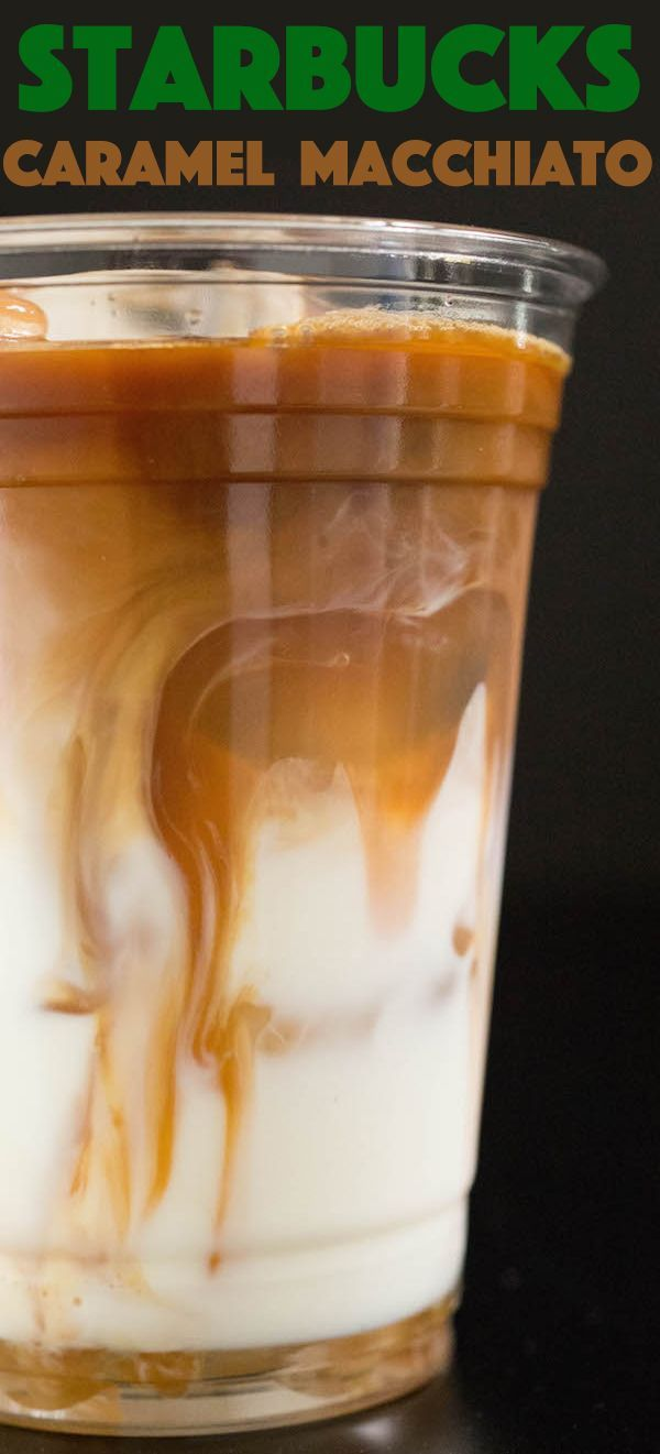 Starbucks Iced Caramel Macchiato Recipe Recipe Caramel Macchiato Iced Caramel Macchiato Recipe Coffee Recipes Starbucks