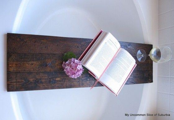 4. Bathtub Shelf