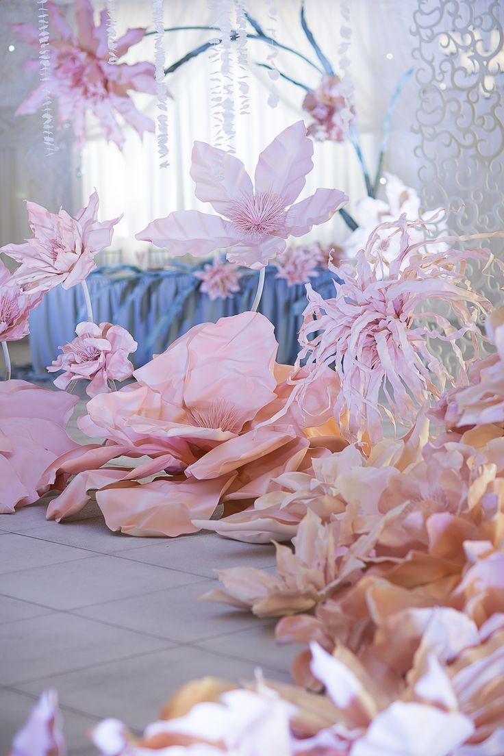 Photographer: Helen Shvaiko Location: Robinson club, Minsk, Belarus Wedding decor ideas, Pink Quartz
