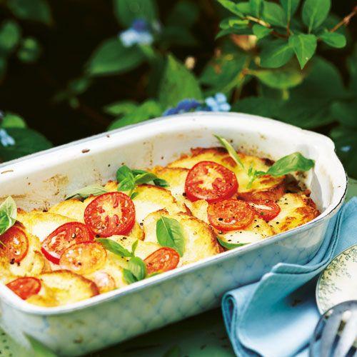 Tomaten-Ciabatta-Auflauf+mit+Mozzarella