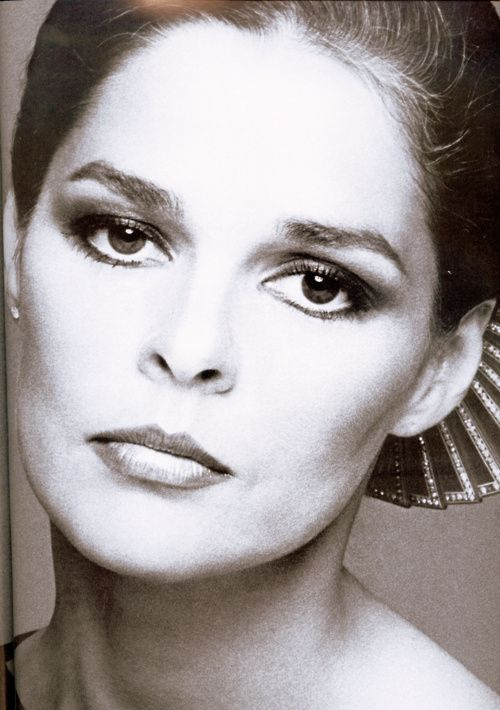 Ali MacGraw by Scavullo. She was a fact of life, an icon of the 60s, up until she began acting, and then to my amazement, she couldn't act. It is still incredible to see her in Love Story, in which a mannequin from Belk would seem more responsive to Ryan O'Neil, himself no actor. It wasn't until she got onto some big 70s night-time soap that she was at last jeered off the screen. Forget the show--Falcon Crest? We sat in the living room, gaping at her lack of talent--stilted, wooden, dull as…