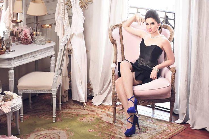 MarF Zapatos, modelo Fiorella Azul (Produccion de fotos de Stella Maris Faggiano)