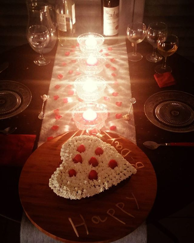 Recette gateau anniversaire romantique