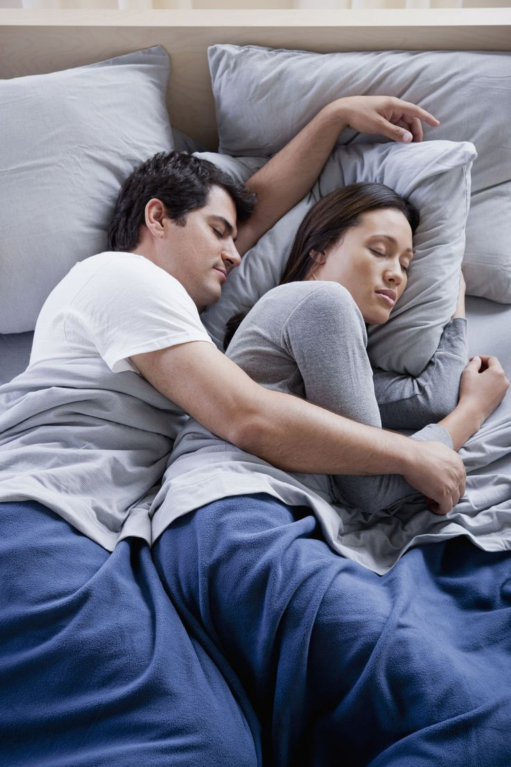 What Your Sleep Position Says About a Relationship