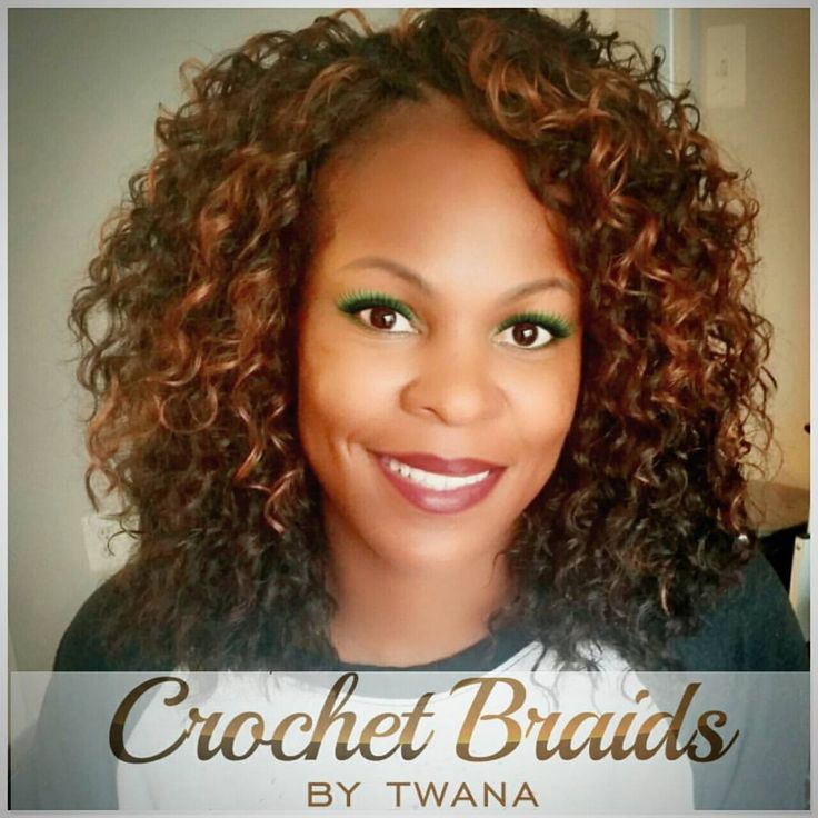 crochet braids with a mix of freetress deep twist and