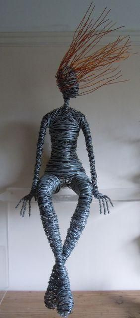 My first inspiration for wire sculpture