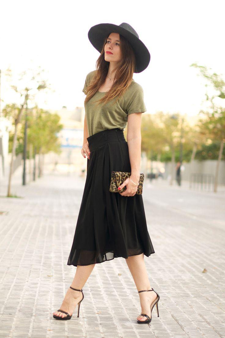 #fashion #fashionista @Macarena Ruiz Mackay Ruiz Mackay gea photo midi_skirt-leopard-floppy_hat-street_style-2_zps46e7718f.jpg