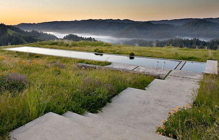 Pool: Lap Pools, Swimming Pools, Inspiration Landscape, Landscape Architecture, Bernard Trainor, Swim Pools, Bernard Trainers, Dreams Pools, Gardens Design