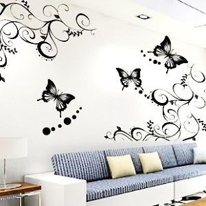 Best Butterfly Wall Decals Images On Pinterest Butterfly - Wall decals butterfliespatterned butterfly wall decal vinyl butterfly wall decor