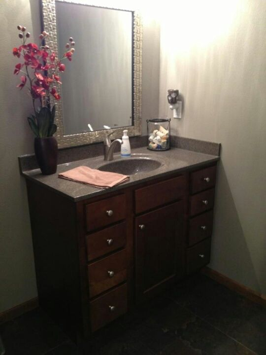 Bertch Bath Vanity Osage Birch Brindle With Oasis Walnut