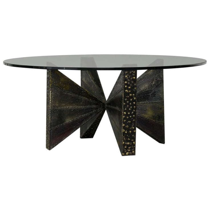 Sculpted Steel Coffee Table Paul Evans Pictures