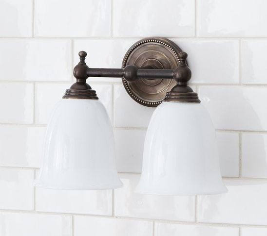 The 25 best traditional bath products ideas on pinterest traditional bathroom lighting and vanity lighting by pottery barn aloadofball Images