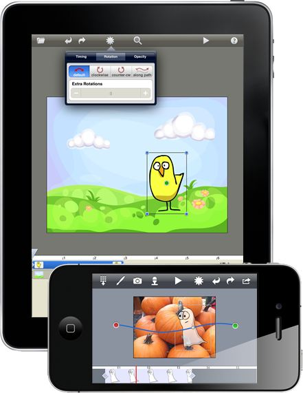 Do Ink Animation & Drawing ipad/iphone app lets you create