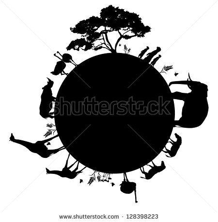Siluetas Animales Fotos, imágenes y retratos en stock   Shutterstock