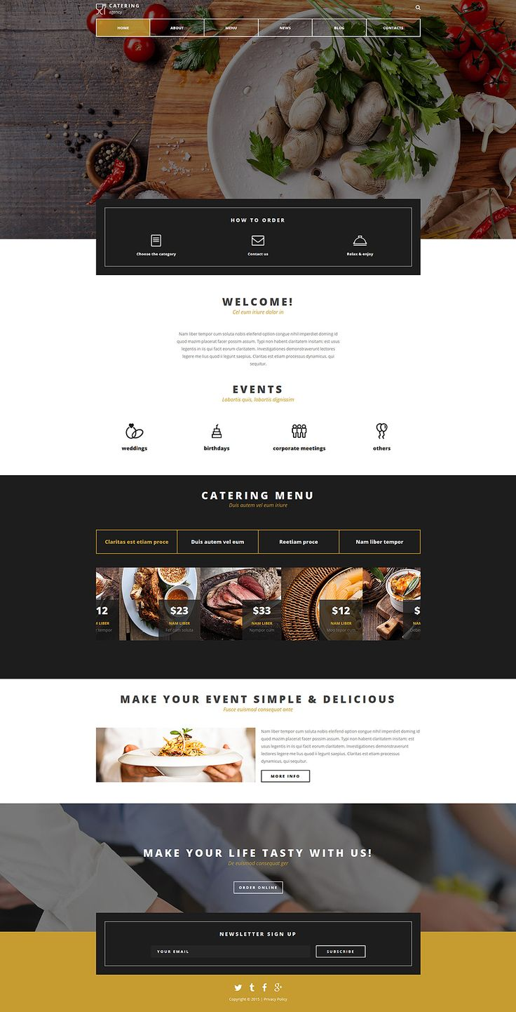 Create a terrific website for those who work in the catering industry. Yummy images of this catering company Joomla template will surely draw public attention to your website. Ghost main menu won't...