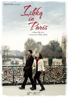 """Preity Zinta's """"Ishq in Paris"""" Movie New Poster 