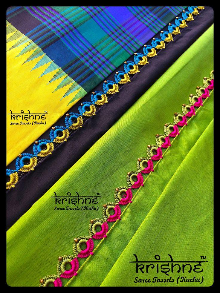 Latest Silk Saree Pallu Knots from Krishne Tassels
