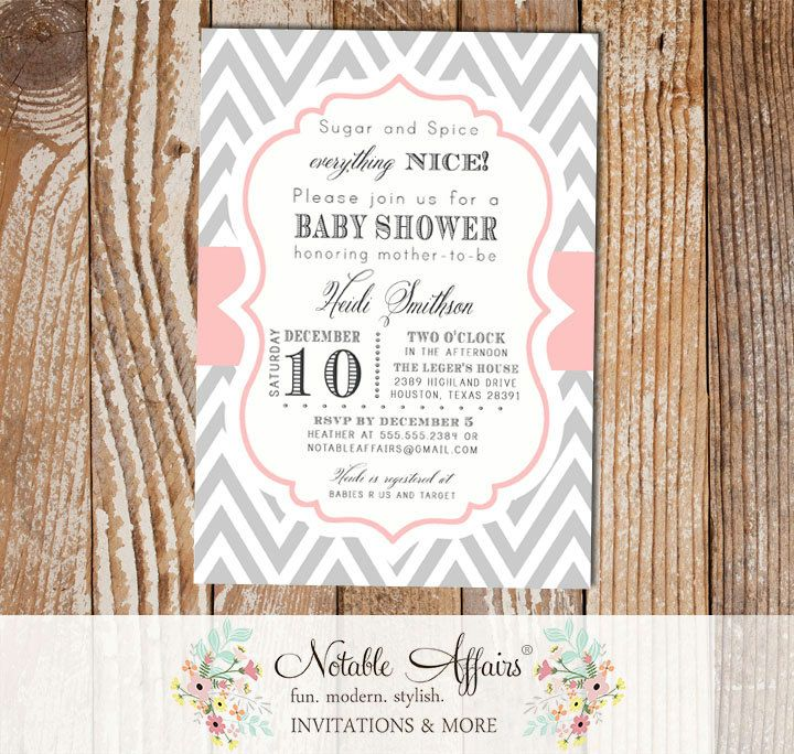 32 best Baby Shower Invitations images on Pinterest | Baby shower ...