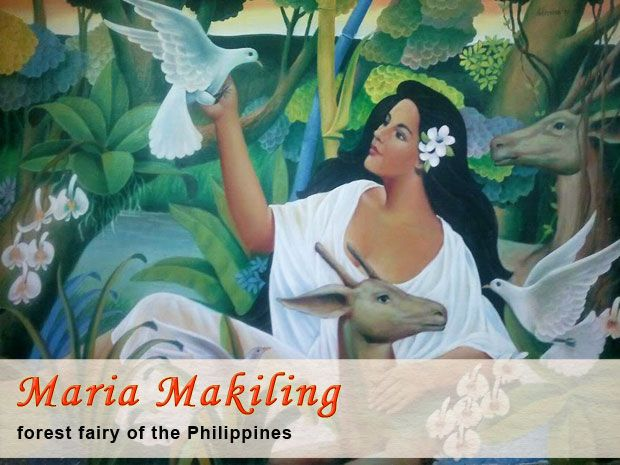 Maria Makiling is the most widely known and beloved diwata (fairy or nymph) of the Philippines. As the guardian spirit of Mount Makiling, sh...