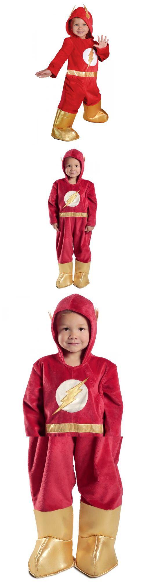 Halloween Costumes Kids: The Flash Costume Toddler Baby Superhero Halloween Fancy Dress BUY IT NOW ONLY: $31.19