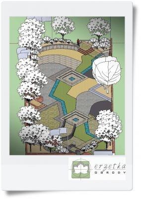 Projekt nawierzchni -tereny publiczne