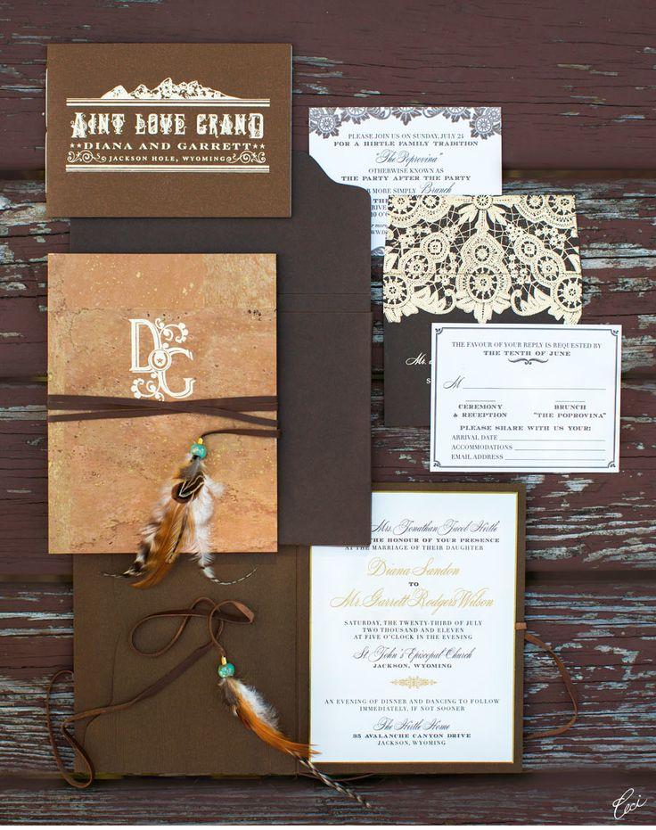 Another stunning Ceci New York Wedding Stationery