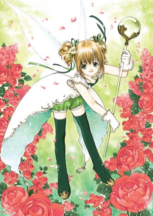 Angel with wings by manga artist Shiitake.