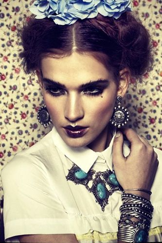 Edgy, luxe jewelry from Dudine. See the whole lookbook after the jump!