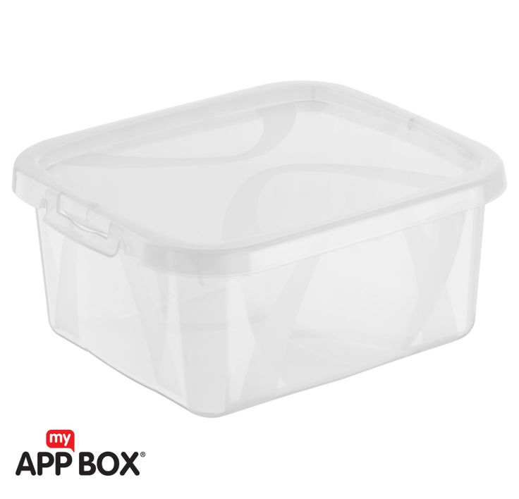 Box Small ARCO 2l transparent