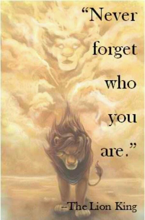 The Lion King quote P.S. Please Follow Me!
