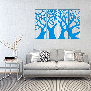 AYA DIY Wall Stickers Wall Decals Big Tree PVC Wall Stickers 55*84cm