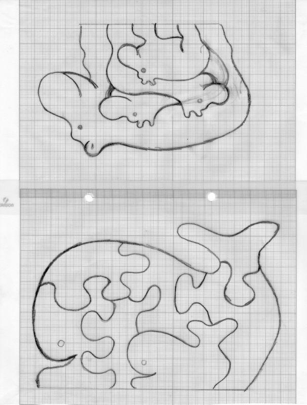 puzzle bois - les créa de kat