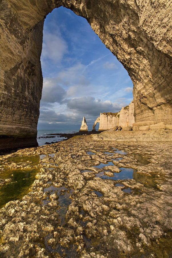 ✯ Natural Arches in Etretat-France
