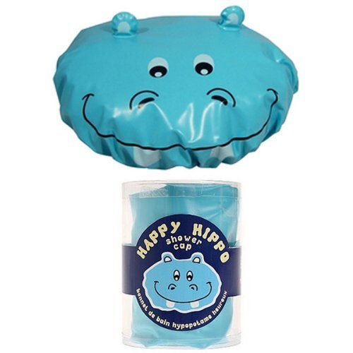 Fun Hippo Shower Cap by AllyDrew. $8.99. Size: One size fits most, not suitable for children under 3 years old. Material: Plastic, 100% phthalate free. Scrub-a-dub-dub. If you have to protect your perfect hairdo while showering or bathing, why not have a ball at the same time with our Fun Hippo Shower Cap. Elasticized opening; one size fits most; 100% phthalate free. Awesome gift for kids and the young at heart. Not suitable for children under 36 months. A terrifi...