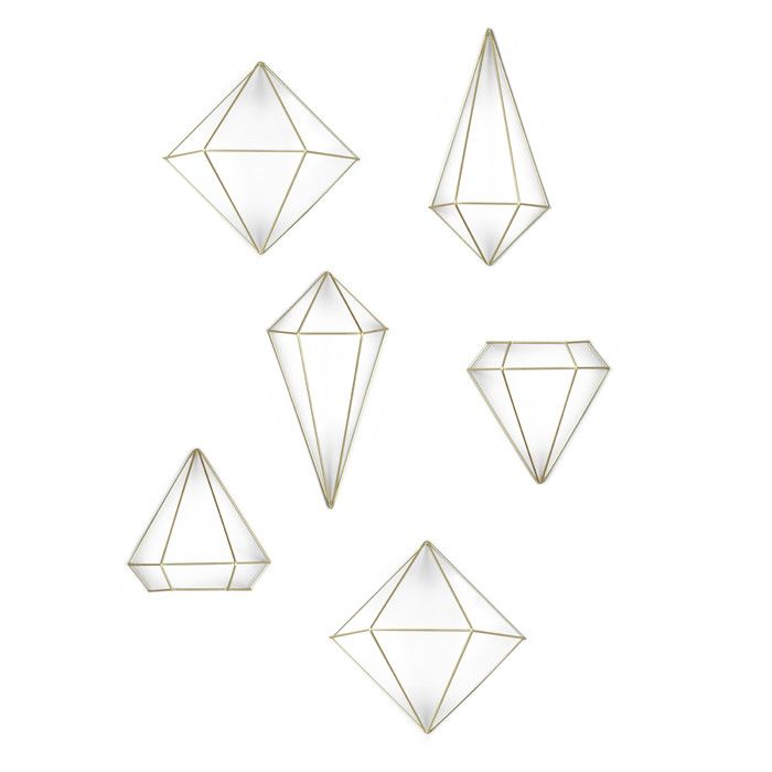 Umbra Prisma 6 Piece Wall Décor Set   AllModern