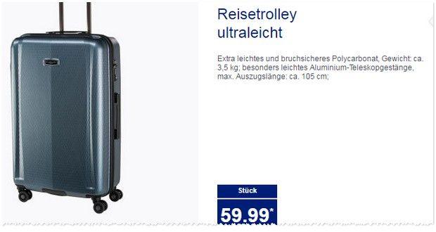 Genial koffer ultraleicht angebote